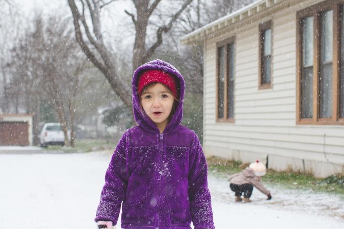 Lyla & Paisley snow-14