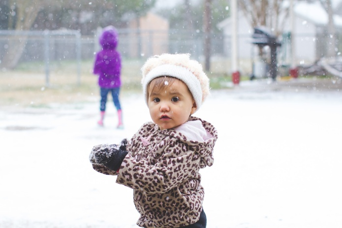 Lyla & Paisley snow-22