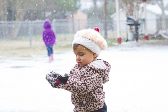 Lyla & Paisley snow-23
