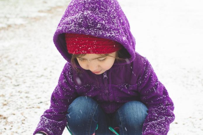 Lyla & Paisley snow-7